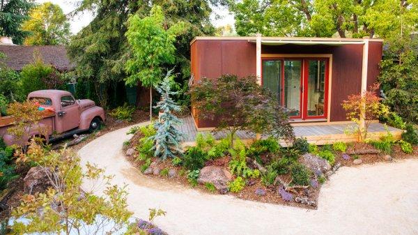 create tiny house's woodland