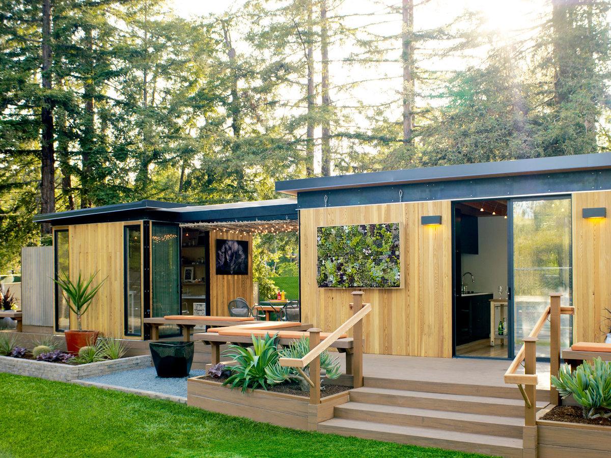 Prefab Cottage Small Houses Backyards