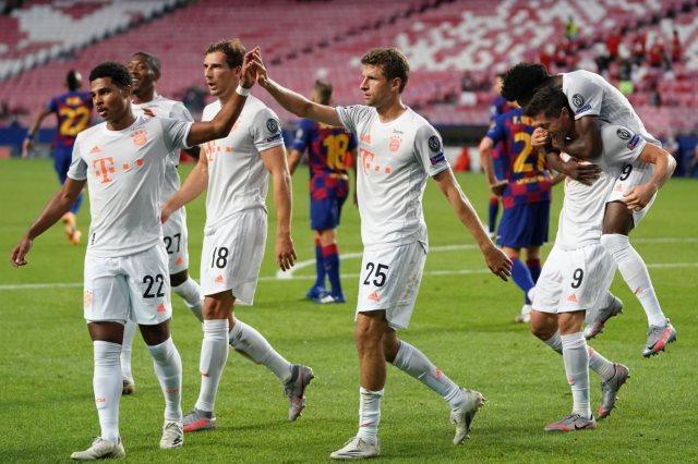 برشلونة ضد البايرن البارسا يتلقى 4 أهداف في شوط أول للمرة الأولى في تاريخه كوورة نيوز