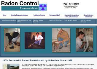 Radon Control Professionals Inc In Reston, Va  2510