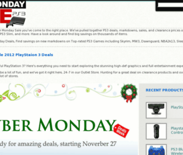 Ps3cybermonday2012 Com Ps3cybermonday2012 Com