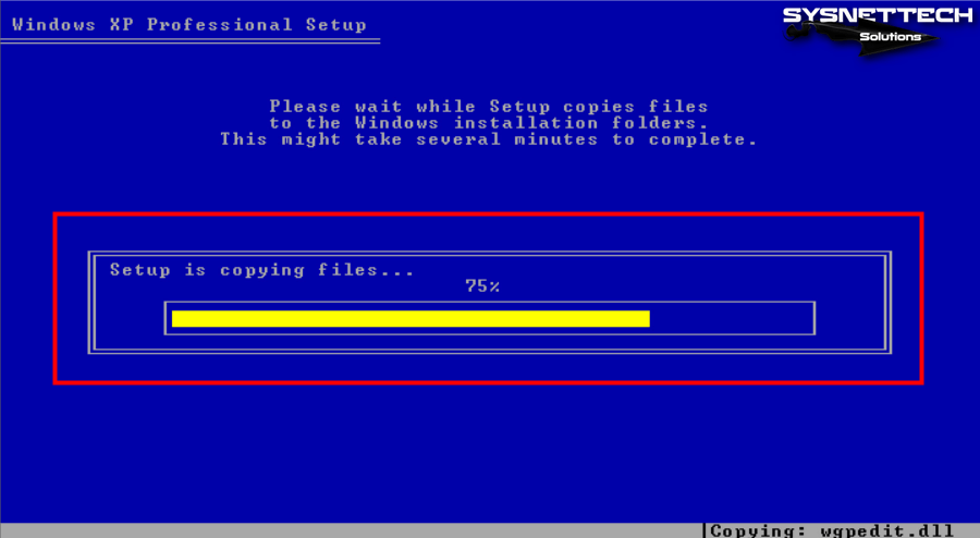 How to Install Windows XP in VirtualBox   SYSNETTECH Solutions