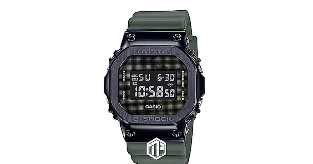 G-Shock 不繡鋼系列GM-5600B-3 推出軍事迷彩款式! | 潮流集合 #Tagpopular