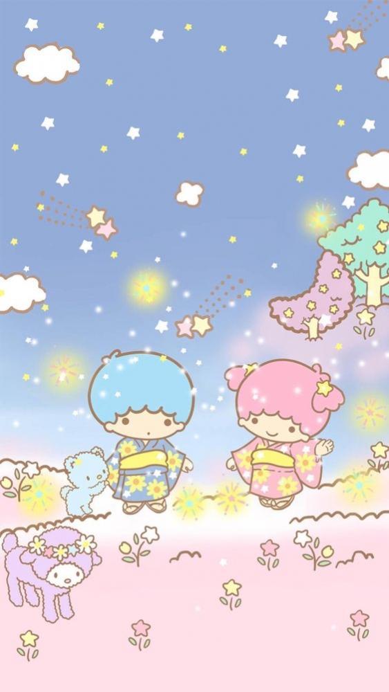 世上最可愛的雙胞胎!「 Little Twin Stars 雙子星」40張精選桌布 ~ 可以一天換一張嗎? | 女生集合 #Tagsis