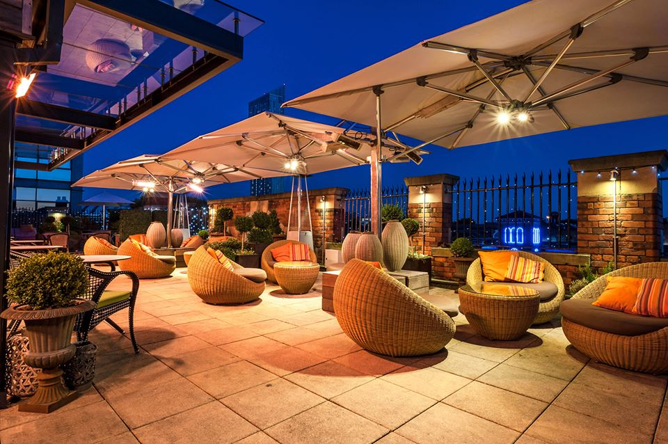 Rooftop Lounge  Playground  Great John Street Hotel