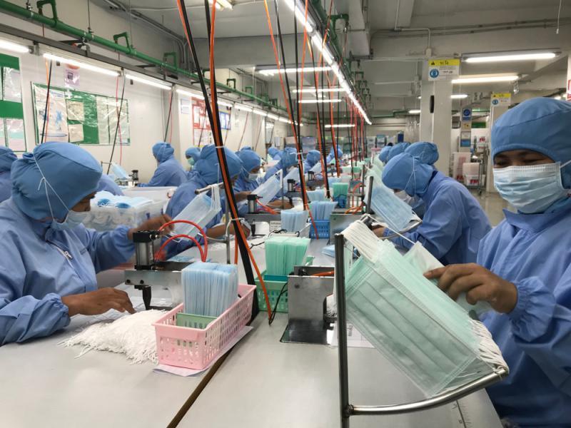 泰月產1億口罩 不限出口