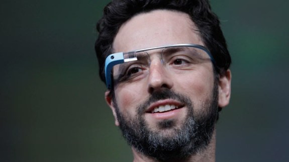 Google Glass user