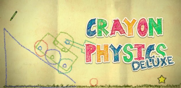 Crayon Physics Deluxe makes its way to the Play Store