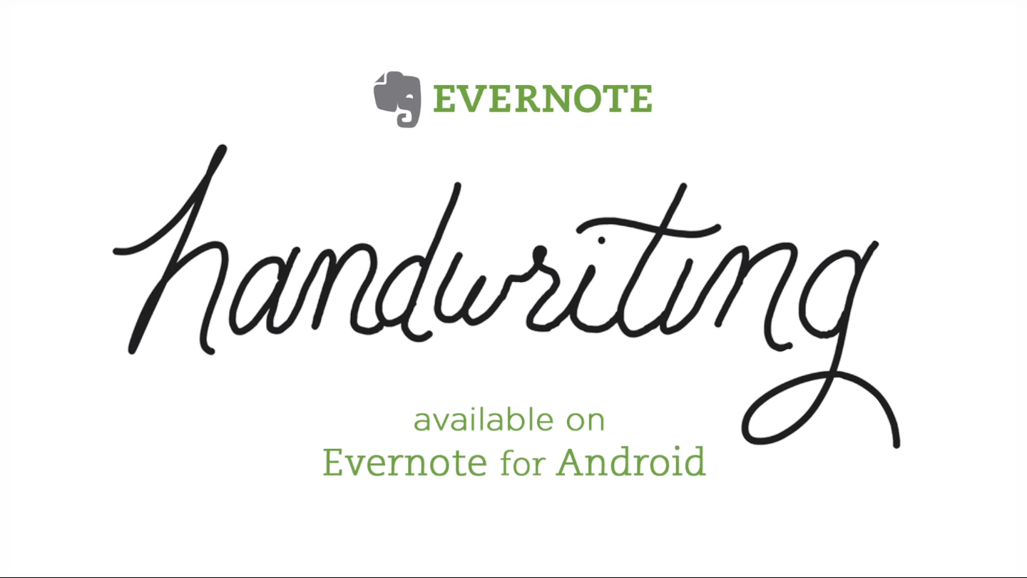 Handwritten note-taking arrives in Evernote for Android