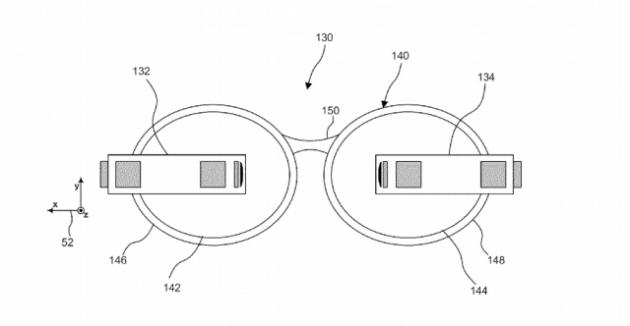 Google patents dual-Glass design, suggests Google Glass