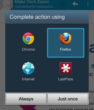 complete action using