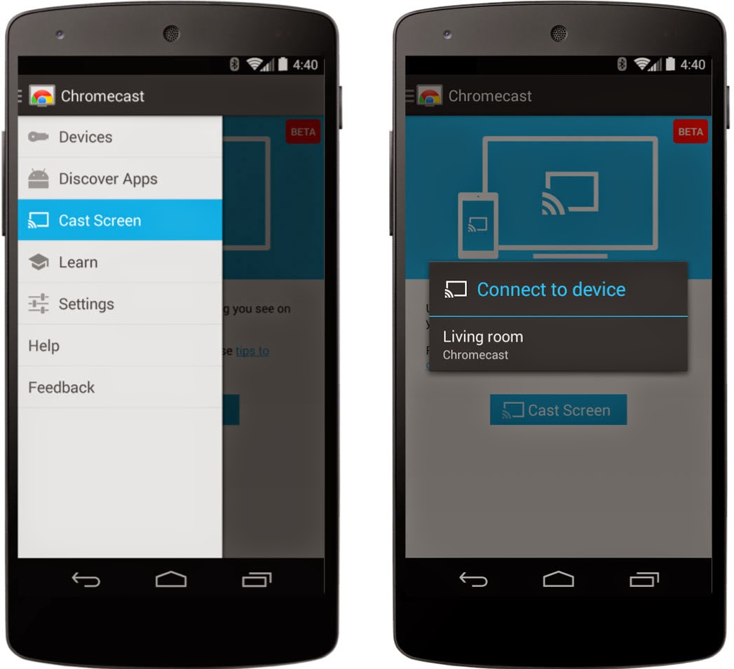 Apk Download Chromecast App Update Activates Cast Screen Feature For Android Devices Talkandroid Com