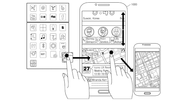 New patent for Samsung reveals work on Iconic UX user