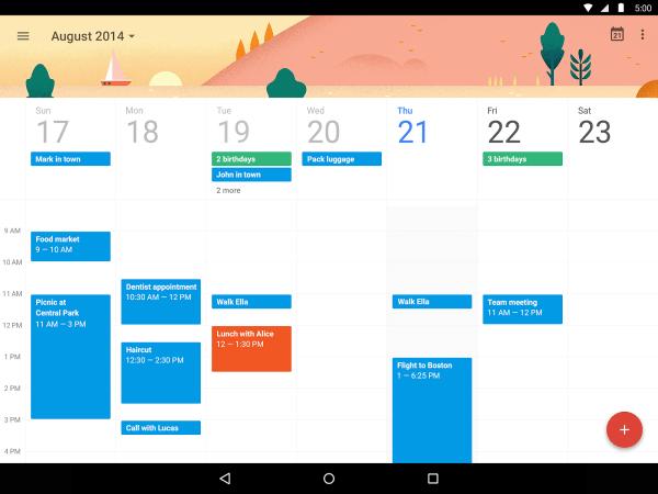 Google Calendar App Download