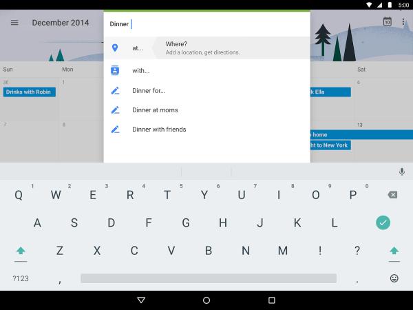 Google Calendar Update With Material Design Stunning