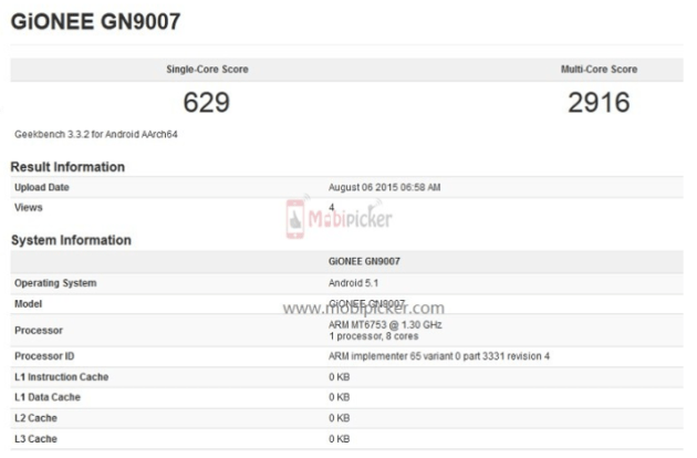 Android smartphones_Gionee_GN9007_leaked specs_081515_2