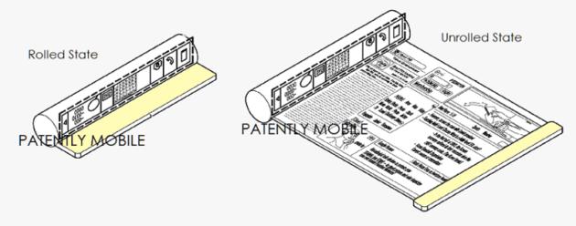 samsung scrolling patent