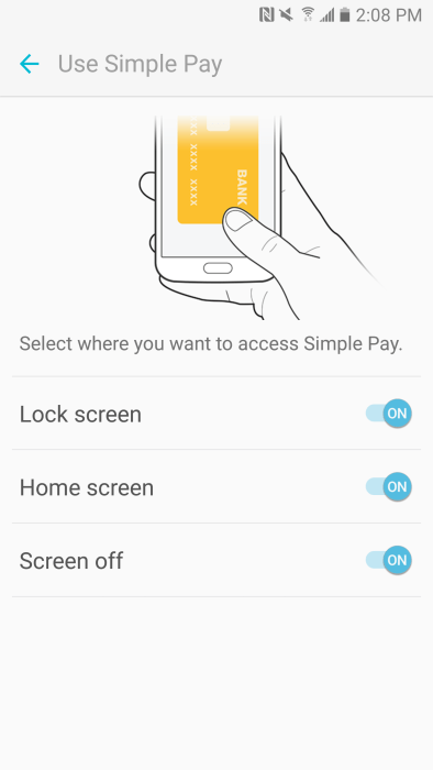 Setting up Samsung Pay on the Galaxy S7 and S7 Edge
