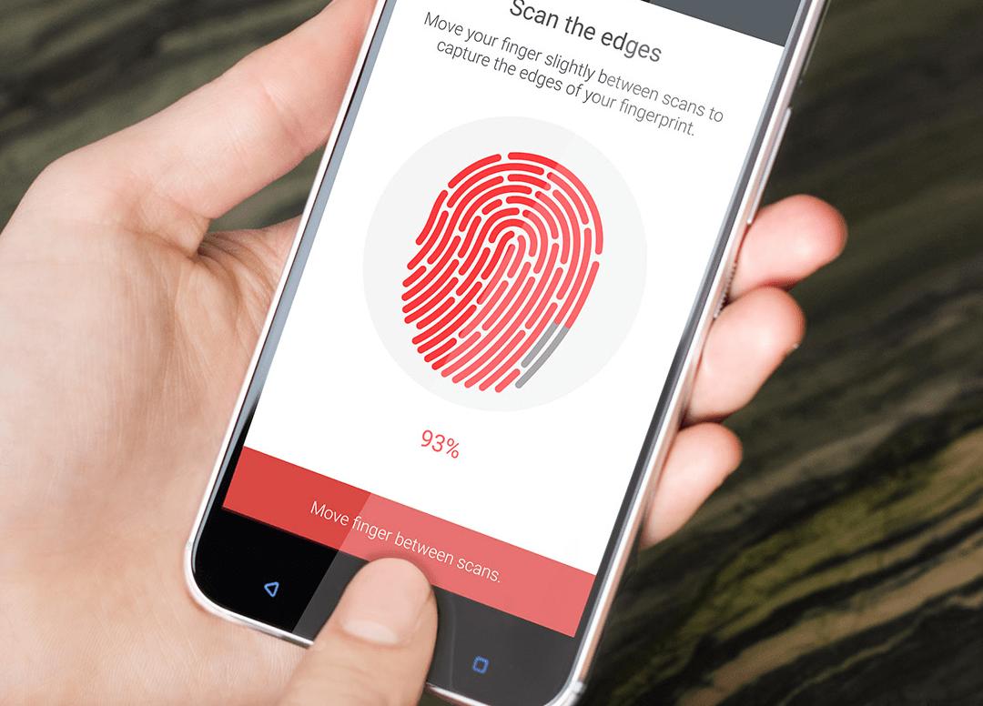 setting up the fingerprint