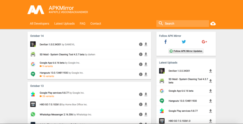 apk-mirror-home