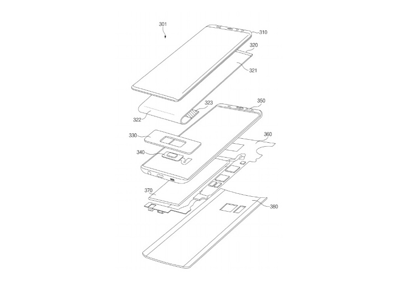 Samsung patents point to new fingerprint reader options