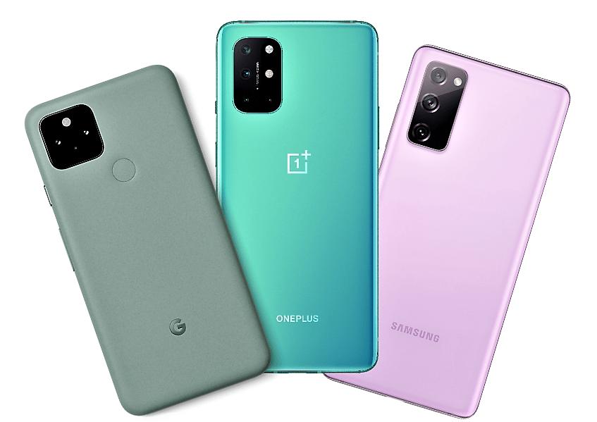 Pixel OnePlus Galaxy