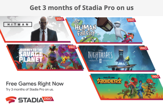 Grab three months of Stadia Pro for free courtesy of Lenovo (New & Existing users) - TalkAndroid.com