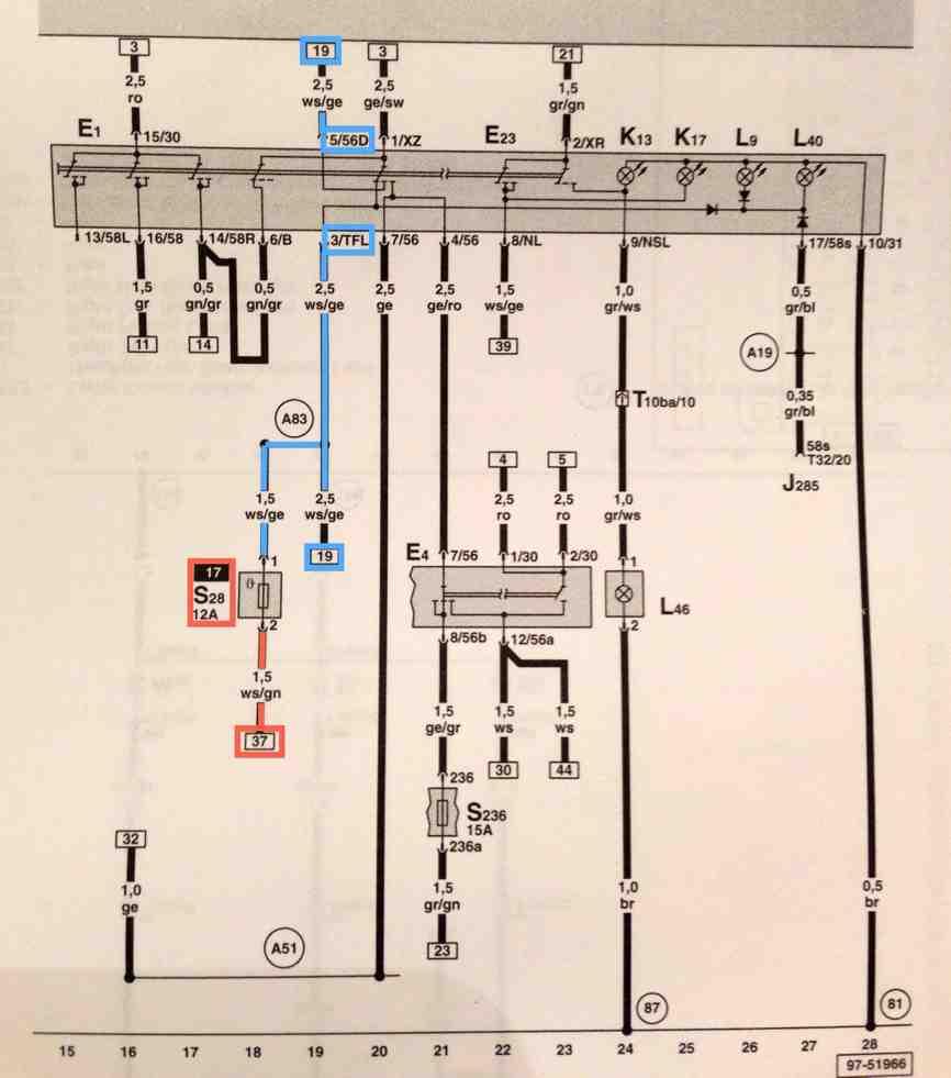 medium resolution of mk4 jettum headlight switch wiring diagram