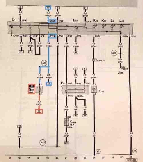small resolution of mk4 jettum headlight switch wiring diagram