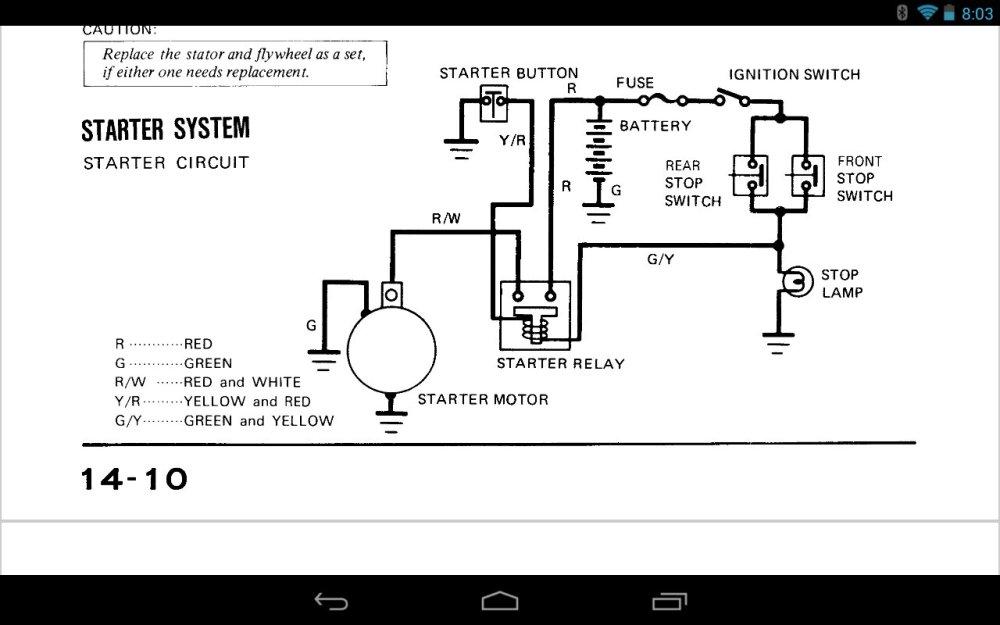medium resolution of  kz spree wiring diagram motorcycle manuals k wiring harness on honda 50 wiring