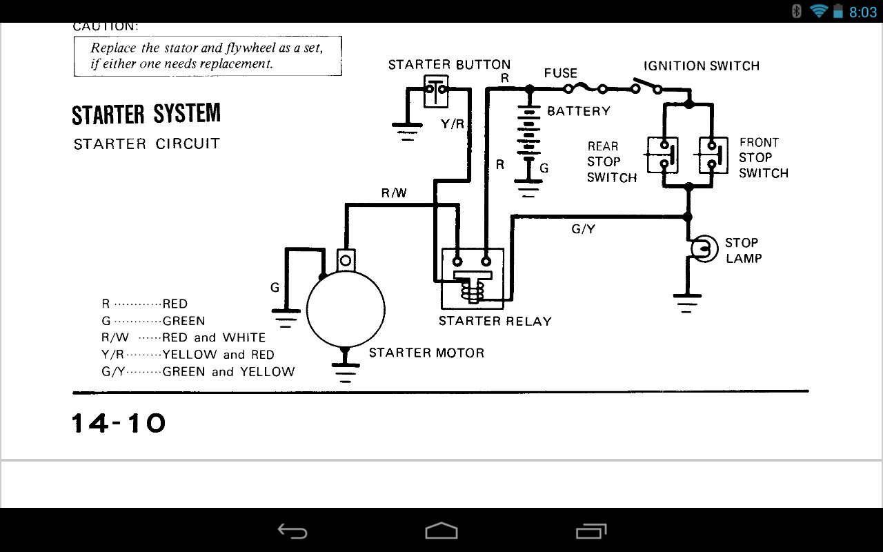 hight resolution of  kz spree wiring diagram motorcycle manuals k wiring harness on honda 50 wiring