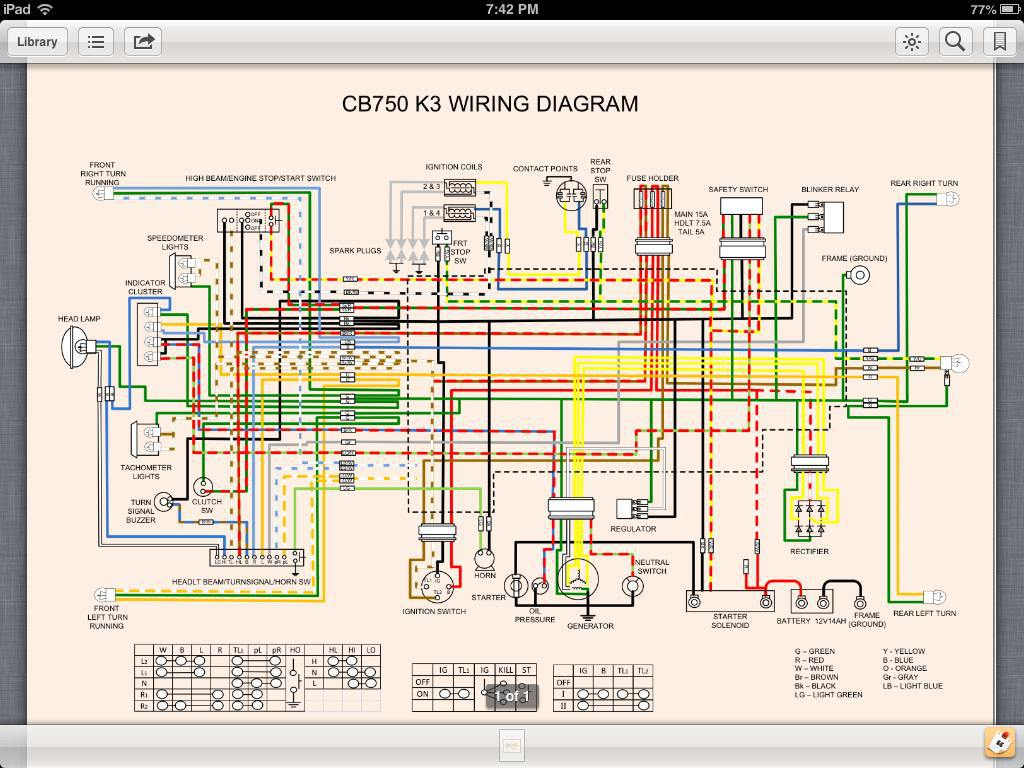 hight resolution of 1976 honda cb550 wiring diagram image