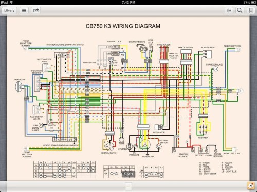 small resolution of 1976 honda cb550 wiring diagram image