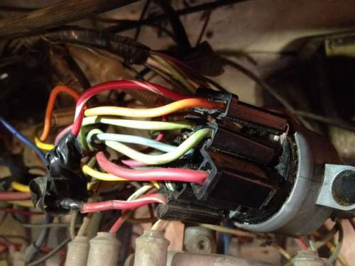 small resolution of 74 cj5 to 85 waggy ignition swap problem 74 jeep ignition switch wiring