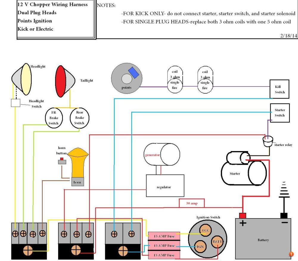 medium resolution of xs chopper wiring diagram wiring diagram and hernes xs650 chopper wiring diagrams