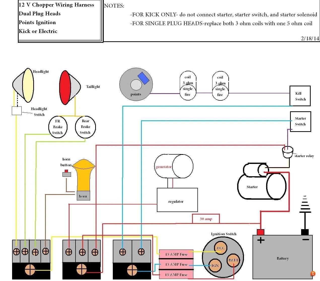 hight resolution of xs chopper wiring diagram wiring diagram and hernes xs650 chopper wiring diagrams