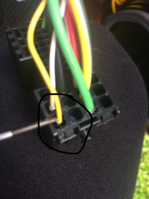 small resolution of along with the black wire for ground
