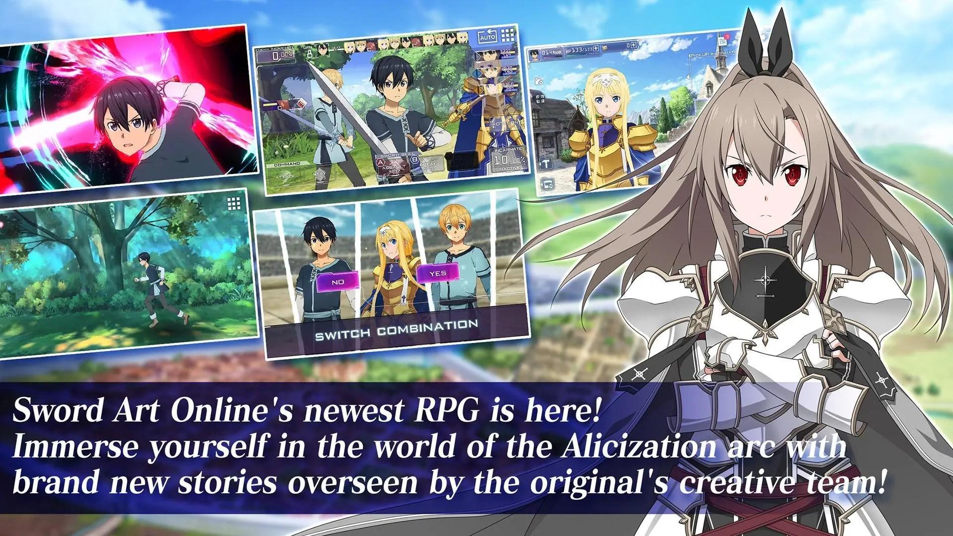 Sword Art Online Alicization Rising Steel - 安卓下載   TapTap 發現好游戲