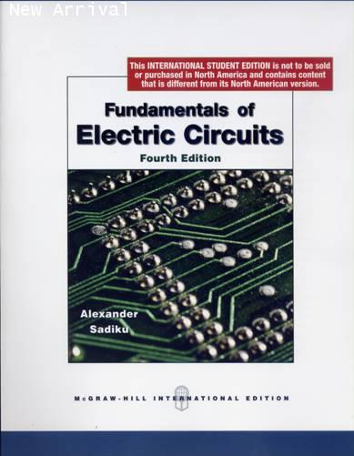 Fundamentals Of Electric Circuits 5th Edition Kindle Edition By