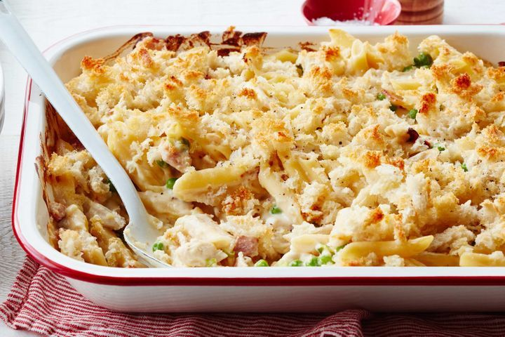 Bacon And Chicken Macaroni Cheese