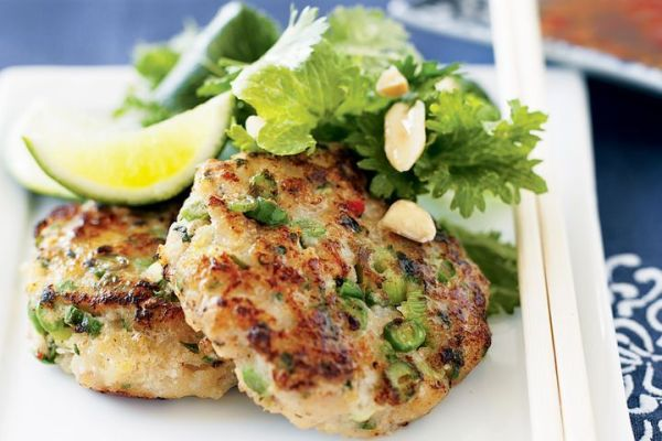 Thaistyle fish cakes