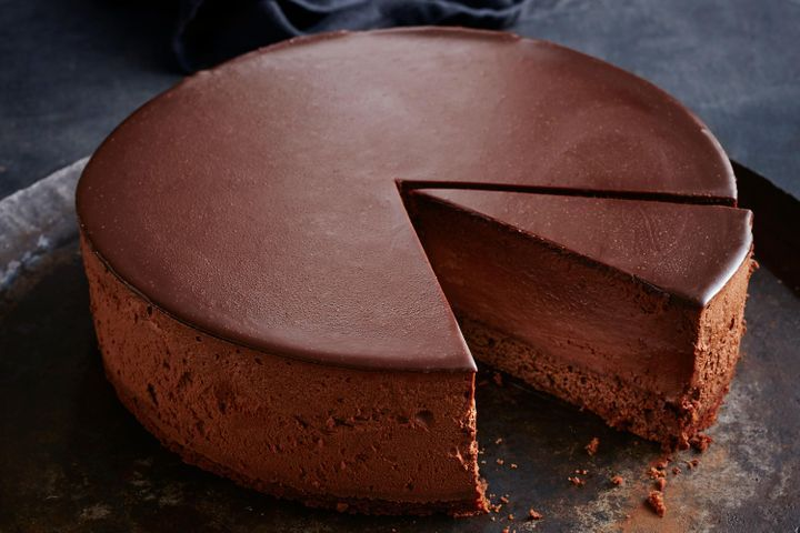 Quick Chocolate Mousse Cake