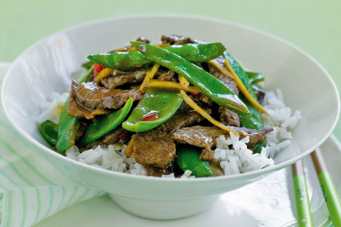 chinese stir fry beef recipes