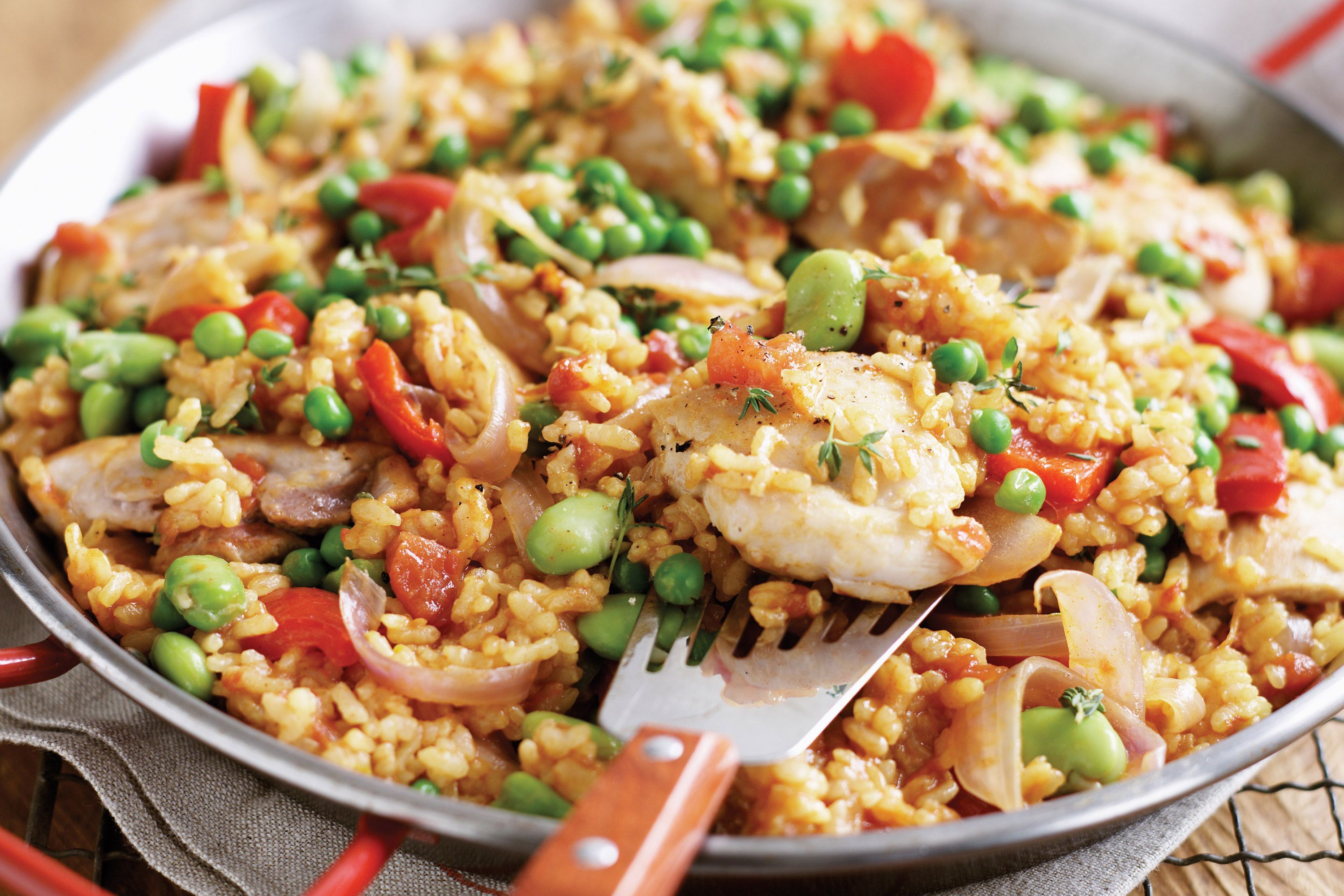 Image result for paella chicken