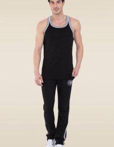 Jockey black  grey melange fashion power vest also buy for men rh tatacliq