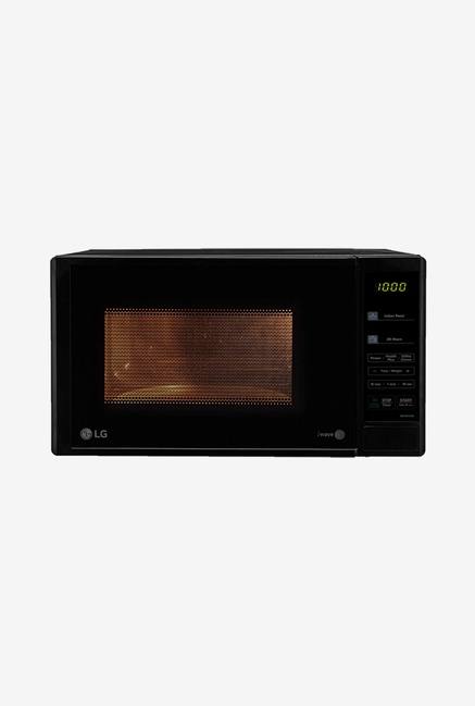 lg ms2043db 20l solo microwave oven black
