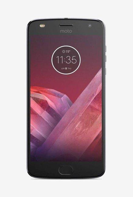 Motorola Moto Z2 Play 64GB (Lunar Gray) 4GB RAM, Dual SIM 4G