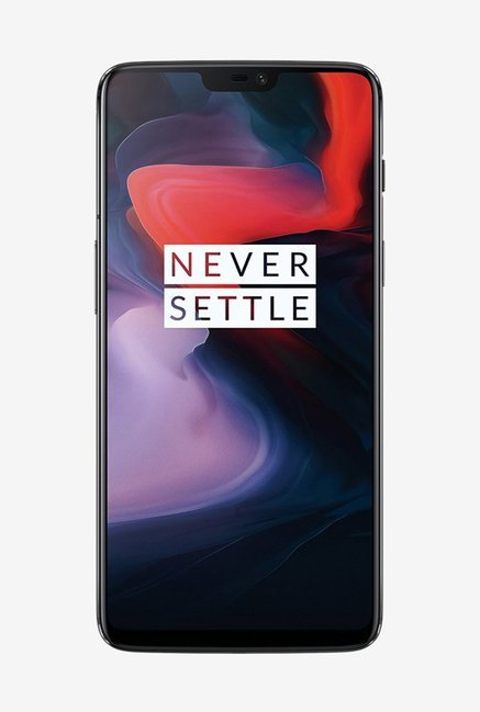OnePlus 6 64 GB (Midnight Black) 6 GB RAM, Dual SIM 4G