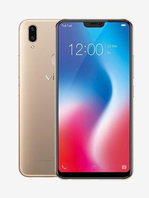 Vivo V9 64 GB (Champagne Gold) 4 GB RAM, Dual SIM 4G