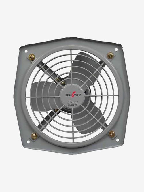 kenstar fuma high speed 225 mm 3 blades exhaust fan pack of 1 grey